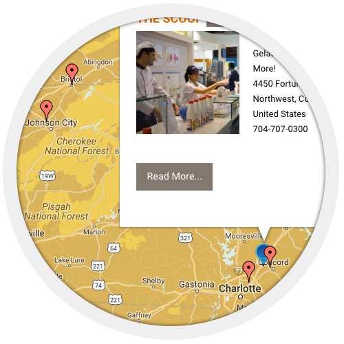 add your gelateria to our map