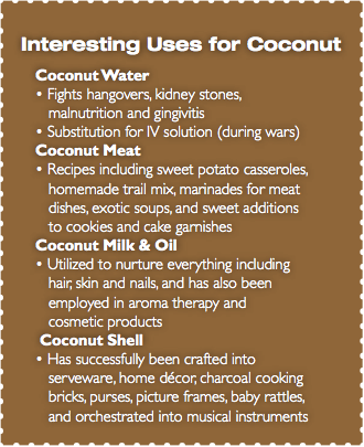 interesting uses for coconut